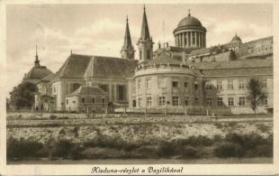 Kisduna-részlet  Bazilikával ( www.esztergom-anno.hu )