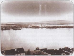 Beszédes Sándor Esztergom 1876-os árvíz