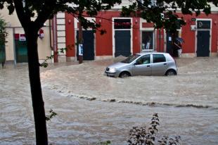 Parkolás a vízben!