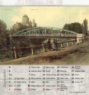 Esztregom Anno asztali naptár 2011