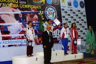 Krempf Réka Európa bajnoki ezüstérmes