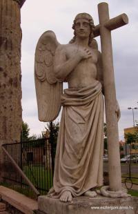 Fejtörő 27: Angyal szobor