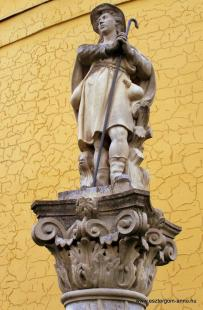 Fejtörő 35: Szent Vendel szobra