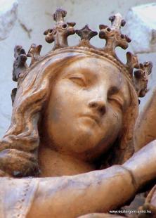 Fejtörő 38: koronás Szűz Mária