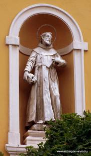 Fejtörő 41: Assisi Szent Ferenc szobra