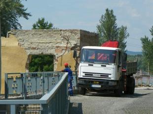 A Petz-gyár bontása