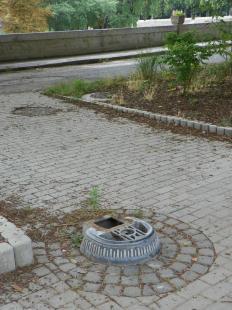 2011-07-24 Hova lett az Aradi téri ivókút?