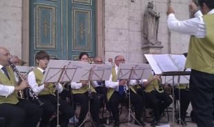 2011-09-07 Banda Musicale di RoccaMalatina - Térzene a Bazilikánál