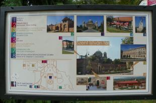 2011-09-08 Használható információs táblák kerültek a Szent István térre
