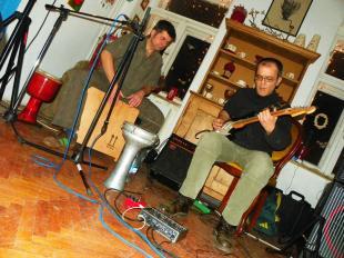2011-12-09 Mörön koncert a Kaleidoszkóp házban
