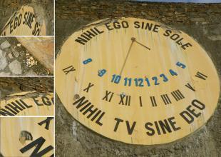 2012-01-15 Az ország legnagyobb napórája még nincs három éves