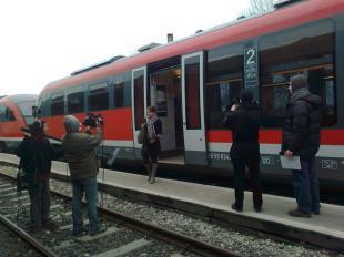 2012-02-24/25 Esztergomban forog a köztévé új turistamagazinjának első adása