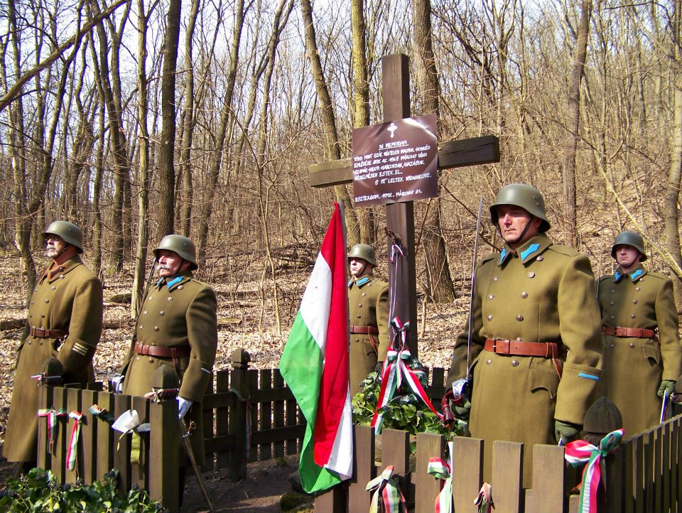 Megemlékezés a Szamárhegy-környéki harcokban elesettekről