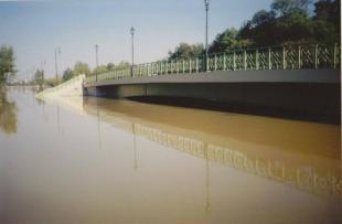 A Tabán híd építése