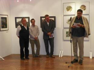 2012-08-31 Balla András-kiállítás Dorogon