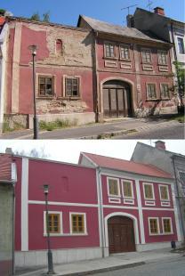 2013-01-03 A bég háza 2009-ben és most