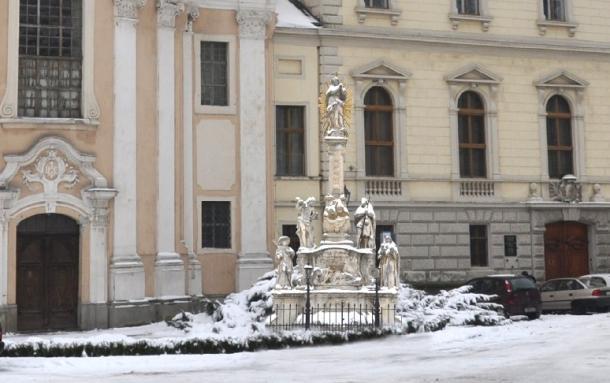 Költözik a vízivárosi Pestis Madonna szobor
