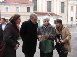 Svájci nagyköveti látogatás