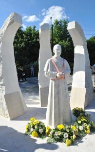 Mindszenty-szobrot avattak Budapesten (MTI Fotó: Máthé Zoltán )