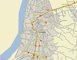 Baleseti térkép