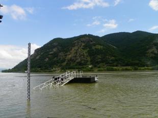 A Duna Dömösnél péntek délelőtt