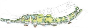 Erzsébet park kertészeti terv 2006