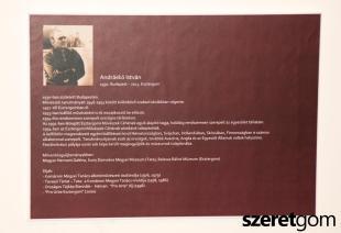 Az Esztergomi Művészek Céhének évzáró kiállításának megnyitója