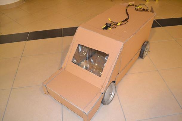 Hulladékból építettek járműveket iskolások