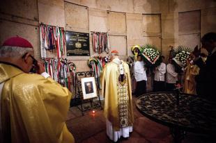 2014-05-03 Szentmise Mindszenty halálának évfordulóján (MTI Fotó: Szekeres Panna)