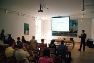 """""""Településeink az energiaforradalom sodrában"""" konferenciát tartottak az Ister-Granum Környezetgazdálkodási Központ szervezésében."""