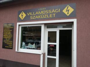 Villamossági bolt