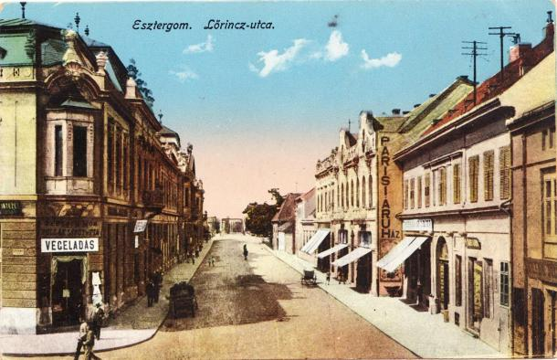 Lőrinc utca anno