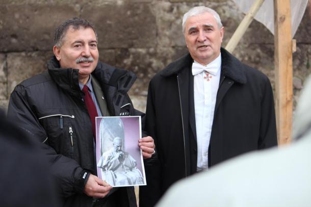 Mindszenty, mint a magyar-orosz barátság szimbóluma