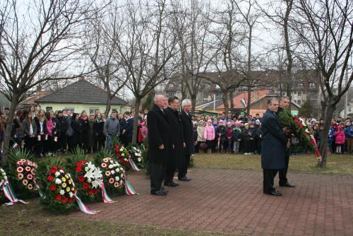 Több százan emlékeztek 1848-ra Dorogon