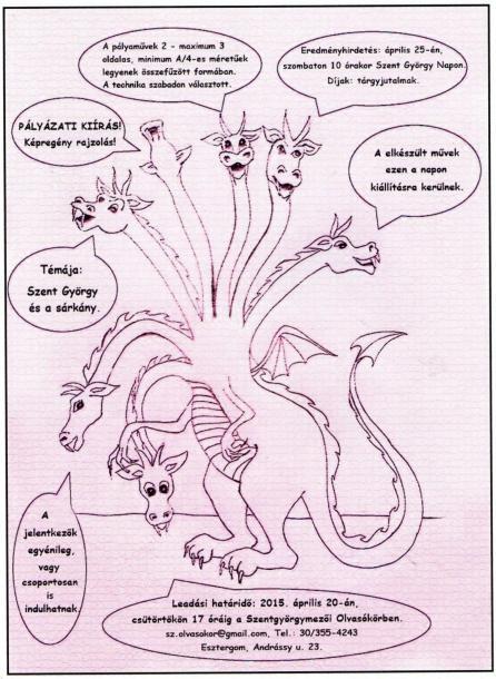 Képregény pályázat az olvasókörben Szentgyörgymezőn