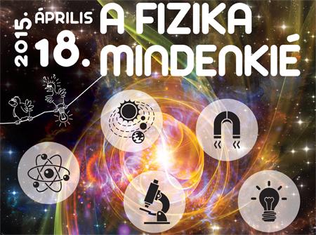 A csillagászat és a fizika szerelmeseit várják április 18-án