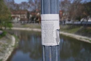 Posztolj verset az utcára a költészet napján!