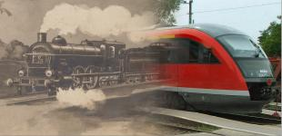 vonat montázs