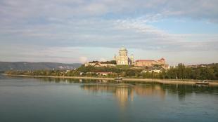 Esztergomi látkép a Mária Valéria hídról