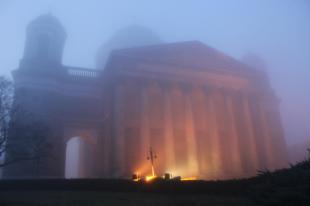 2015-12-11 Ködbe burkolózott a bazilika