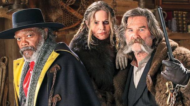 Debütál Az aljas nyolcas, bemutatják az új Tarantino-filmet Párkányban