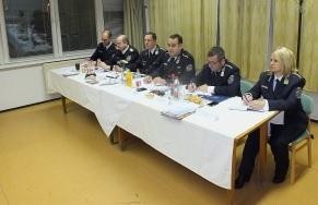 Régiós rendőrségi munkaértekezlet Esztergomban