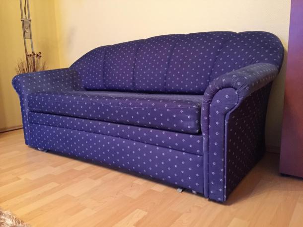 Eladó nappali/hálószoba bútor (kihúzható kanapé, tároló kanapé, fotel)
