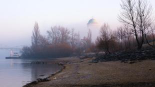 Téli reggel a Palkovics padnál