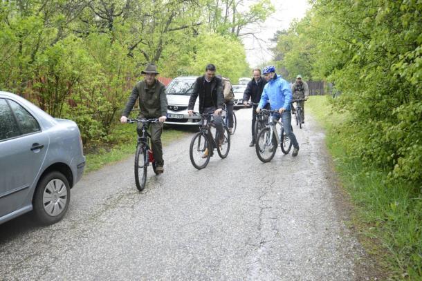Bringával a Pilisben: átadták a Pilis Bike erdei kerékpáros úthálózatot