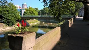 2016-05-20 Már a Kis-Duna sétányon is beindult a virágosítás