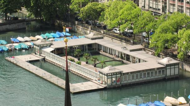 Frauenbad, Zürich légi