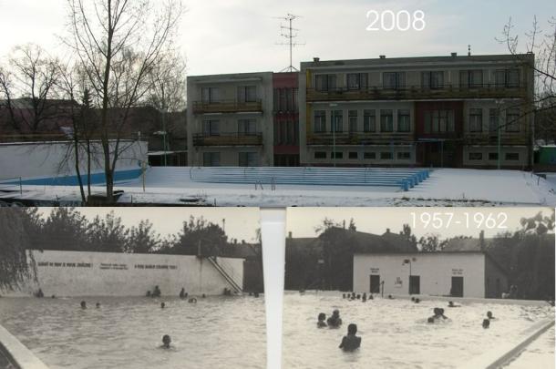 Öreg fürdő a dunapartján 1960 - 2008