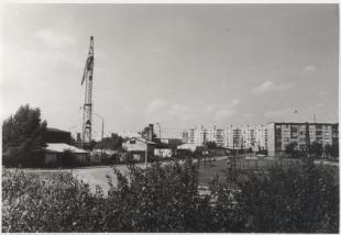 Kilátás a papagájtelep felé 1976