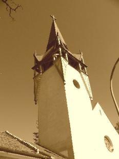 Kereszt-Rejtvény 94.Evangélikus templom tornya